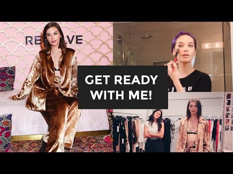 Get Ready with Me: REVOLVE EVENT + Flaunt Magazine