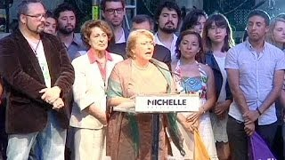 Socialist Michelle Bachelet wins Chile