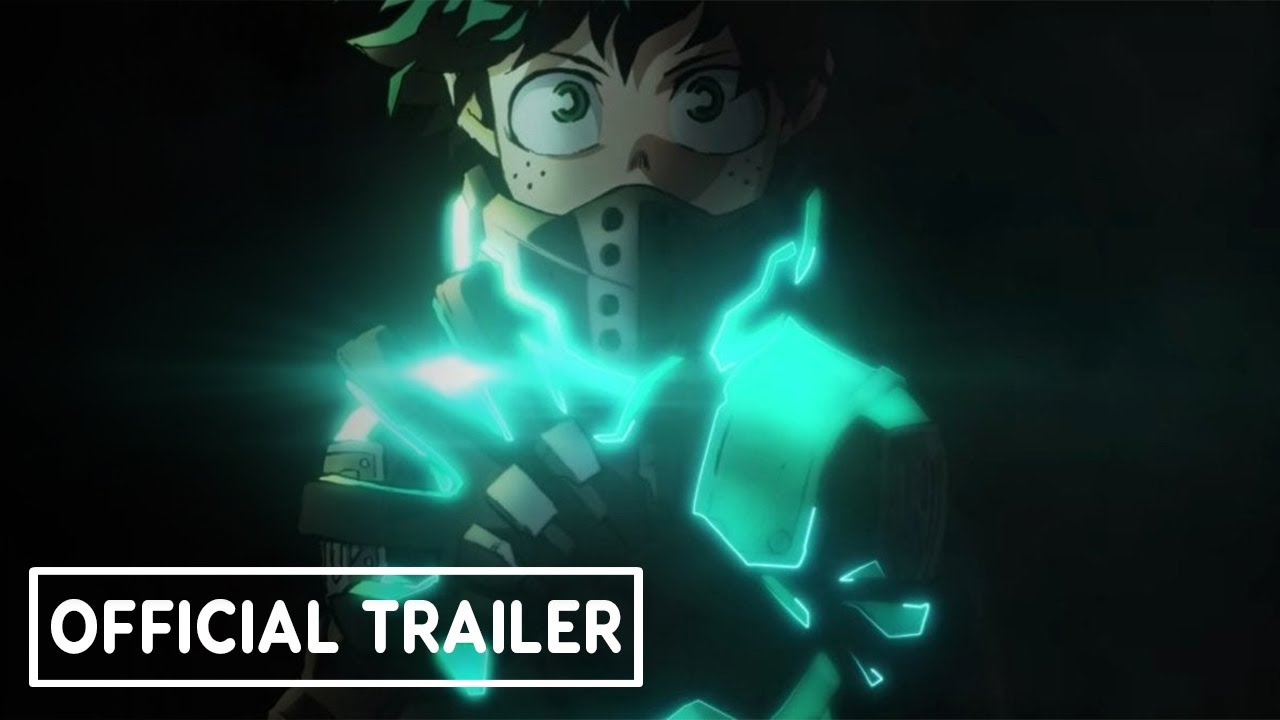 My Hero Academia Movie 3 World Heroes Mission Official Teaser Youtube