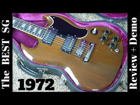 1973 Gibson SG Standard | The BEST SG Money Can Buy | Review and Demo