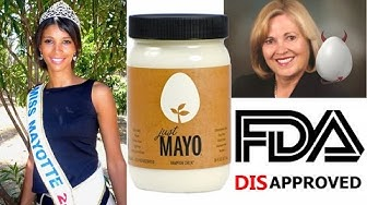 Just Mayo = Mayo of Justice (FDA Anti-Vegan?)