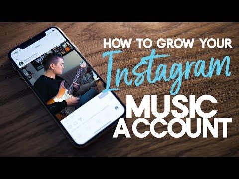 Grow Your Instagram Music Account in 2018 | Instagram Tips