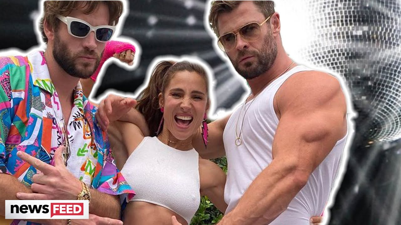 Liam & Chris Hemsworth DRAGGED For Maskless Party!