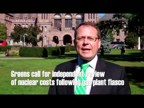 Greens call for independent review of nuclear costs following gas plant fiasco