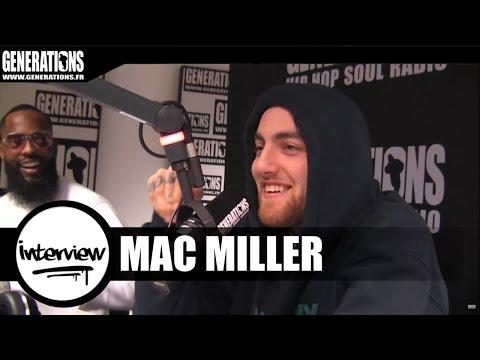 Mac Miller - Interview #TheDivineFeminine (Live des studios de Generations)