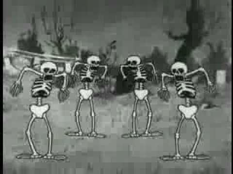 Silly symphony skeleton dance
