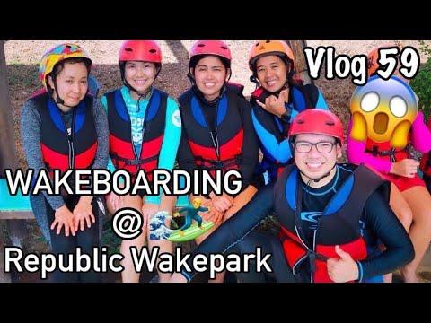 WAKEBOARDING AT REPUBLIC WAKEPARK! | Nuvali | Laguna | #MrandMrsB | VLOG#59