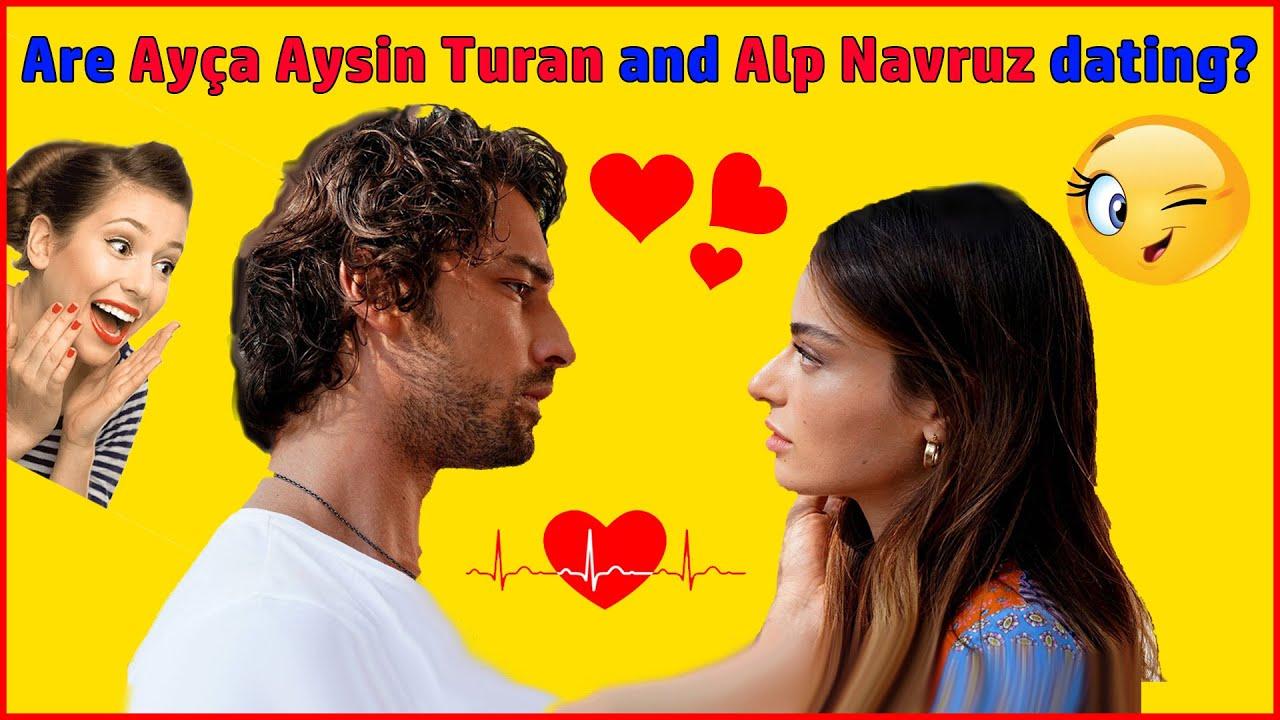 Are Alp navruz and Ayca aysin turan in love behind the scenes of Ada masali turkish drama?