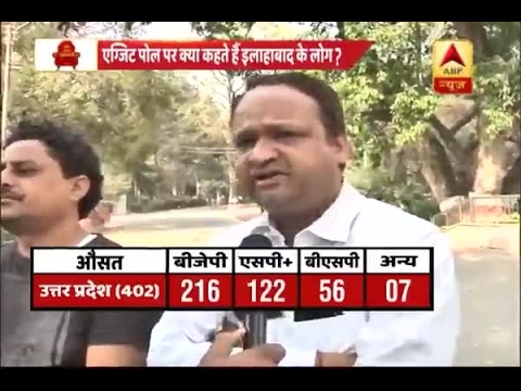 Allahabad: Mixed reactions on exit poll