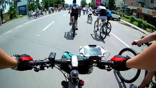 A CAZUT IN FATA MEA! (BikeVlog: Parada Bicicletelor) #12