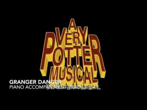 Granger Danger - A Very Potter Musical - Piano Accompaniment/Karaoke Track