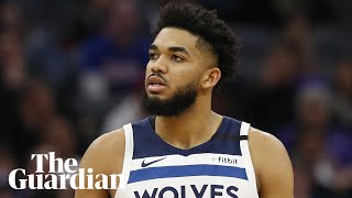 Minnesota timberwolves star karl-anthony towns said he lost seven family members to covid-19 in an emotional media appearance on friday. spoke about his e...