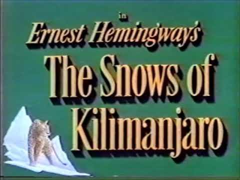 AMC Bob Dorian  Snows of Kilimanjaro  Eva Gardner
