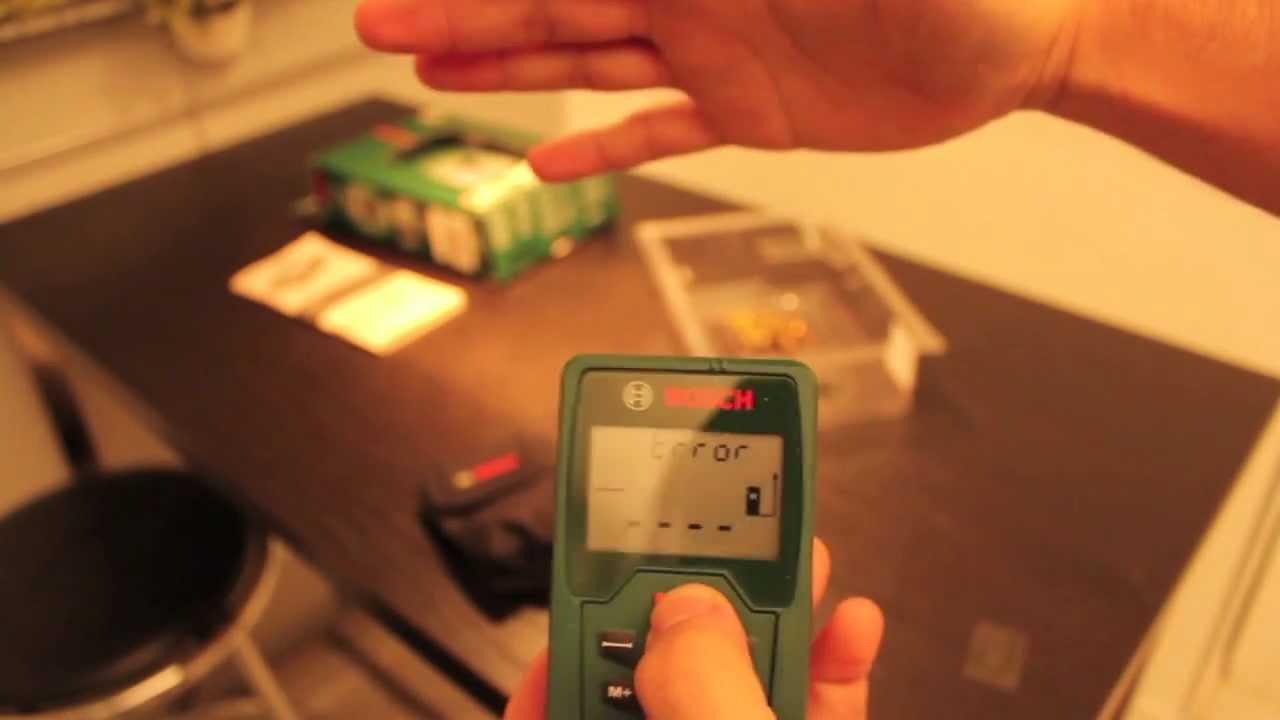 Bosch plr laserentfernungsmesser youtube