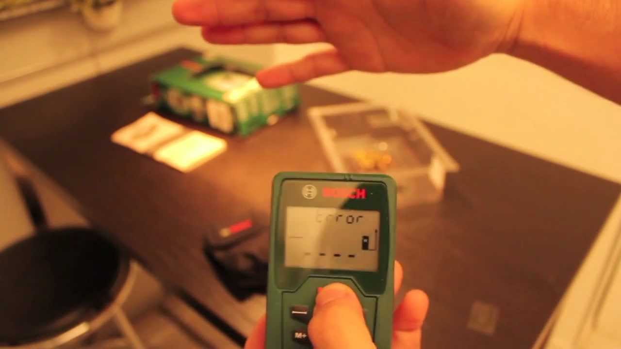 Bosch Entfernungsmesser Plr 25 : Bosch plr 25 laserentfernungsmesser youtube