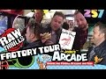 Raw Thrills Arcade Game Factory Tour, 257 Arcade Tour, and Billy Goat Tavern Review Chicago