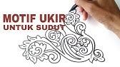 Contoh Lakaran Motif Awan Larat Part 2 Youtube