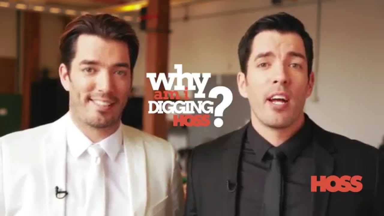 The property brothers share why they dig hoss magazine Who are the property brothers