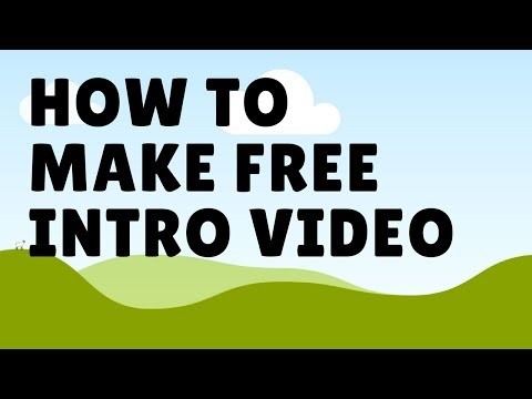 How to make awesome intro video for free! (Using Panzoid)