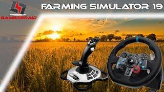 Farming Simulator 2019 Wheel + Joystick Setup How To Guide