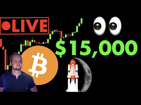 OMG!!! #BITCOIN $15,000+ 🔴 LIVE STREAM | $ETH $LINK Find Support!