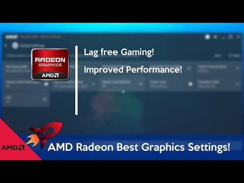 How to Optimize AMD Radeon for gaming (best Settings) - YouTube