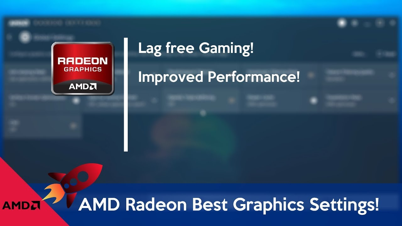 How to Optimize AMD Radeon for gaming (best Settings)