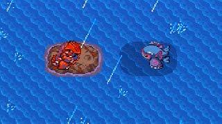 ポケットモンスター エメラルド Part 33 海底洞窟+グラードンVSカイオーガ 通常プレイ (Pokémon Emerald) thumbnail