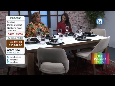 #HappyBlackFriday! Cardin Concept - Ida Dining Room Table: 1300-0056