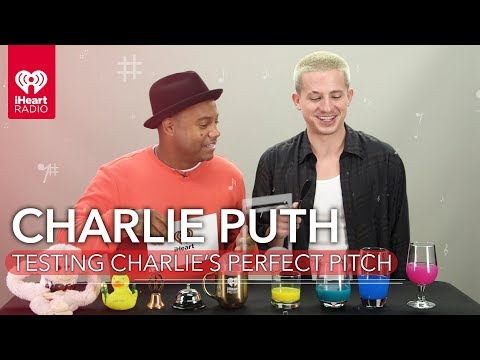 Maxwell - Charlie Puth Puts His Perfect Pitch To The Test!