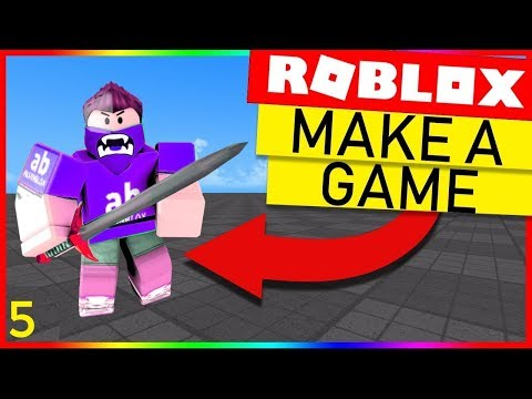 Shop Gui How To Make A Roblox Game Sword Fight Part 5