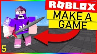 Shop GUI - How To Make A Roblox Game (Sword Fight) - Part 5