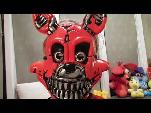 NIGHTMARE FOXY Child Costume| UNBOXING Review HALLOWEEN| FNAF| Five Nights at Freddy's| OskieWhiskie