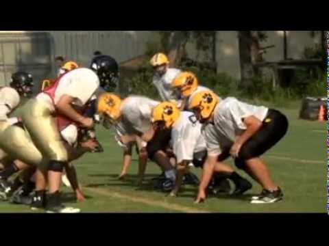 Crisp Academy Wildcats football team is young