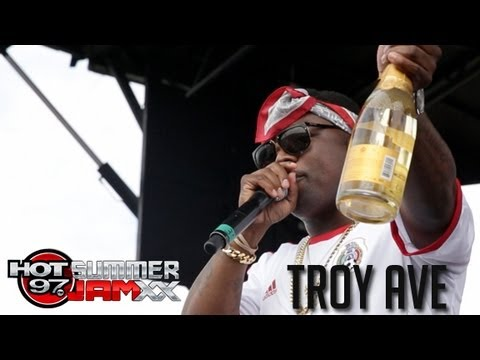 Troy Ave performs