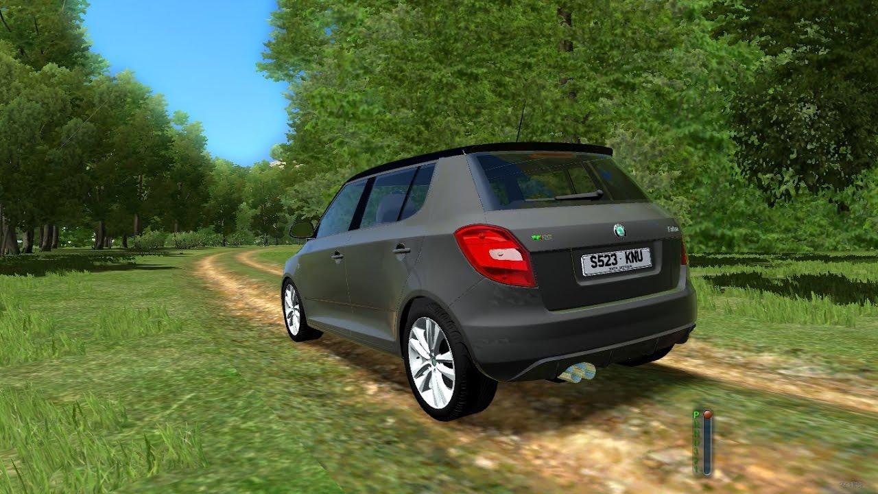 city car driving 1 5 3 skoda fabia rs 2010 hatchback 1080p hd youtube. Black Bedroom Furniture Sets. Home Design Ideas
