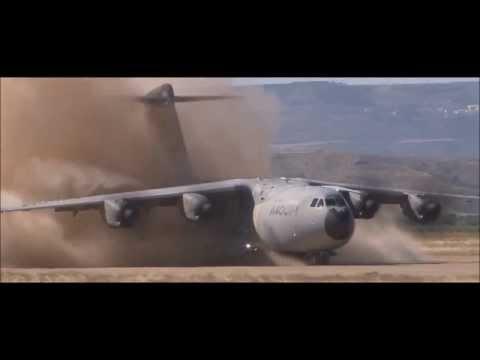 AIRBUS A400M: Pruebas en pistas sin pavimentar