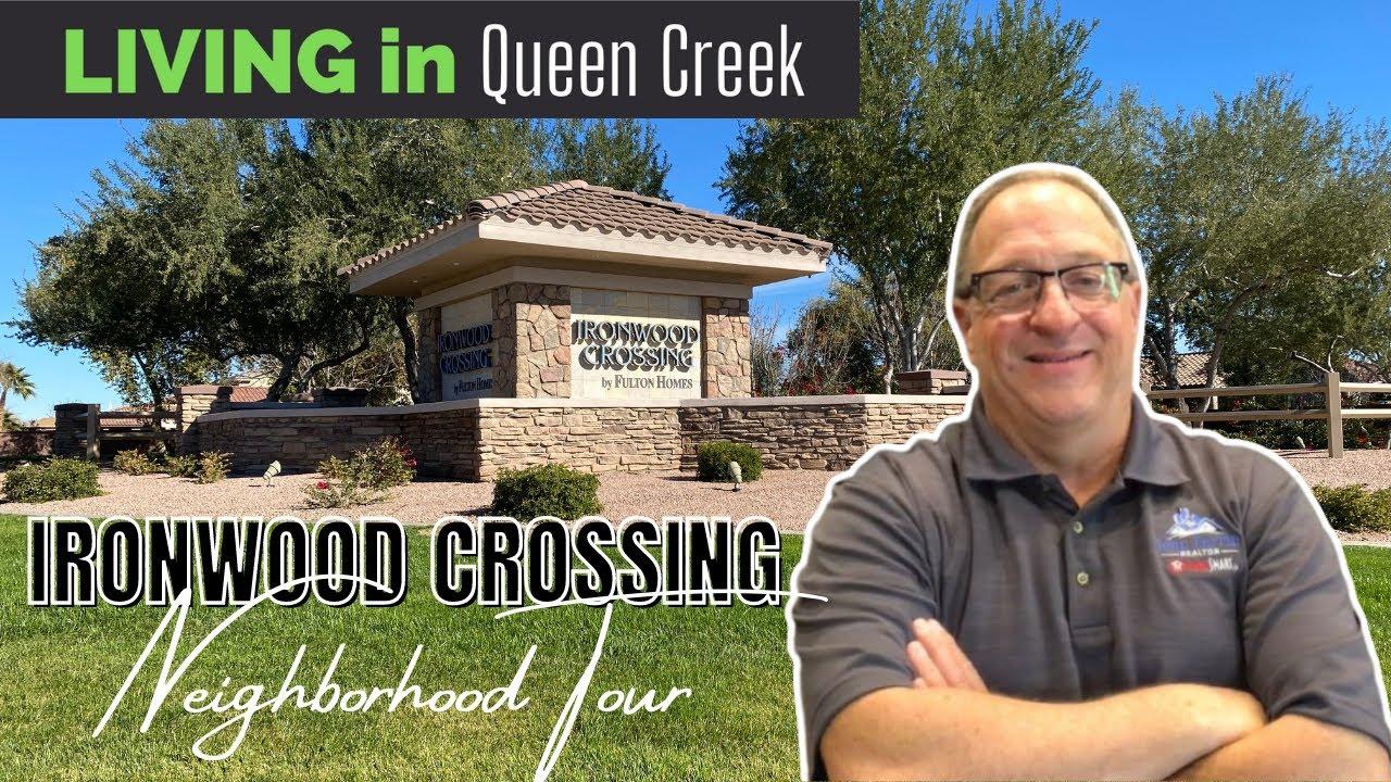 Ironwood Crossing Best Neighborhood Tour Queen Creek Az Youtube