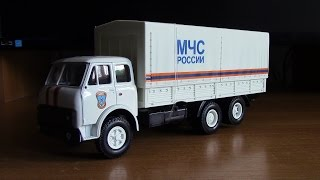 Масштабная модель МАЗ 516 Autotime