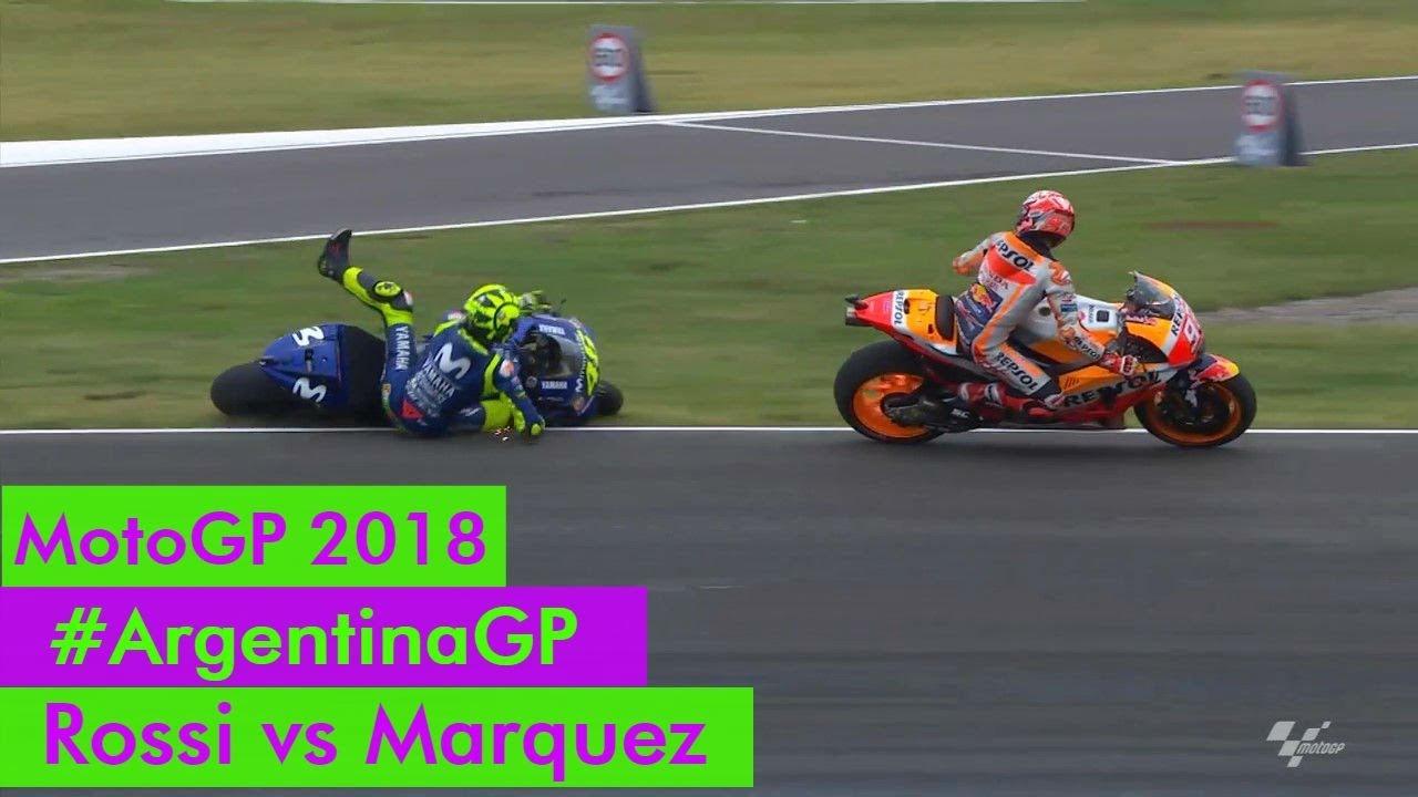 ArgentinaPaura Marquez Tensione Per Ai E Motogp In Rossi Di Gara Box v7bfY6gy