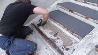 видео Полимер-песчаная тротуарная плитка