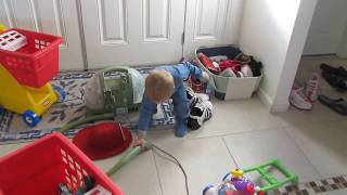 Twins Fight Over Vacuum