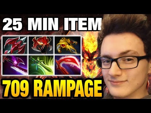 Miracle- [Shadow Fiend] GIVE ME RAMPAGE Dota 2