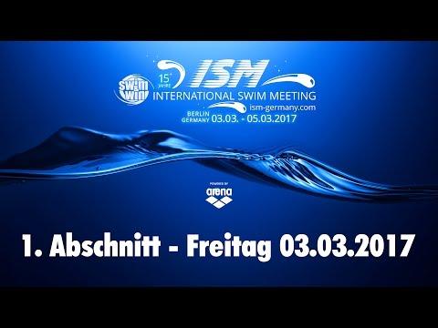 International Swim Meeting 2017 - 1. Abschnitt