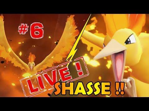 SHASSE AU SULFURA SHINY #6 DANS POKEMON LET'S GO !!! PLUS DE 1600 RESETS !!- NINTENDO SWITCH thumbnail