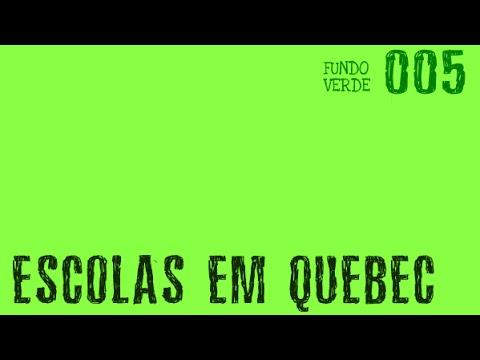 FV #005 - Escolas sistema de ensino em Quebec