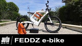FEDDZ e-bike Mobylette électrique sans permis ESSAI AUTO-MOTO.COM