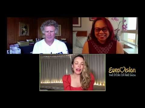 Rachel McAdams and Will Ferrell EXCLUSIVE INTERVIEW with Janet Nepales