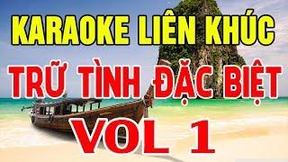 Karaoke Nhạc Sống | Liên Khúc Bolero Trữ tình Đặc Biệt | Tuyển Chọn Vol 1 | Trong Hiếu