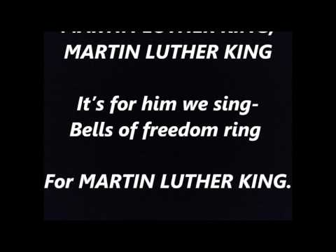 MARTIN LUTHER KING song words lyrics best top popular favorite trending sing along song songs